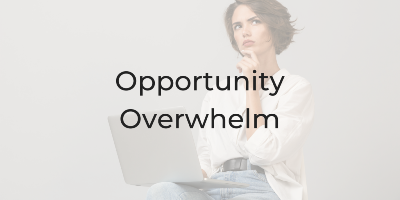 Opportunity Overwhelm, Leaving the Law, Be a Better Lawyer Podcast, Dina Cataldo, how to decide between law jobs